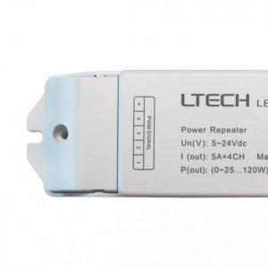Amplificador para fita RGB – 12V~24V  180W~360W