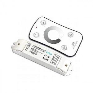 Controladora Com Função Wireless + controle remoto  9A – 108W (12V) & 226W (24V)