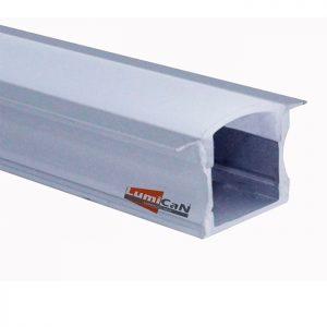 Perfil Led Alumínio Embutir 2,4cm x 1,2cm