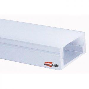 Perfil Led Alumínio Sobrepor Slim 1,7cm x 0,8cm