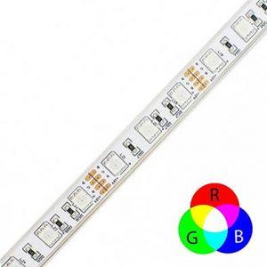 Fita LED RGB 10Wm 5050 60Ledsm – IP65